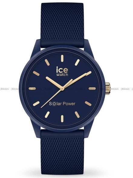 Zegarek Damski Ice-Watch - Ice Solar Navy Gold 018743 S