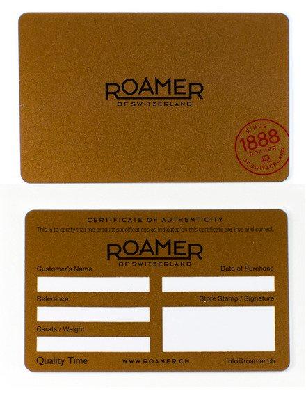 Zegarek Damski Roamer C-Line Diamond 657833 49 59 60