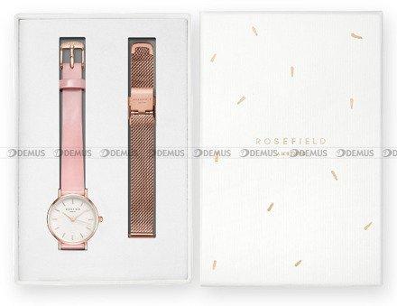 Zegarek Damski Rosefield Premium Gloss SHSMR-X220 - W zestawie skórzany pasek