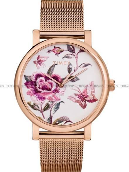 Zegarek Damski Timex Full Bloom TW2U19500