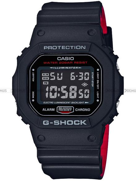 Zegarek G-SHOCK BLACK AND RED HERITAGE DW-5600HR 1ER