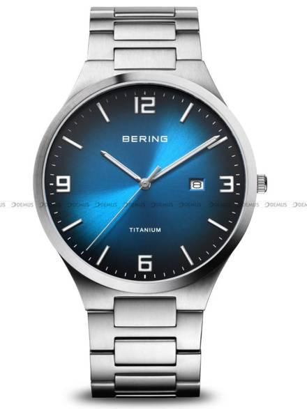 Zegarek Męski Bering Titanium 15240-777