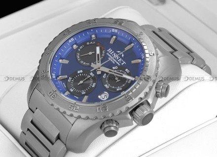 Zegarek Męski Bisset Titanium Chrono BSDF16 BSDF16DIDB10AX
