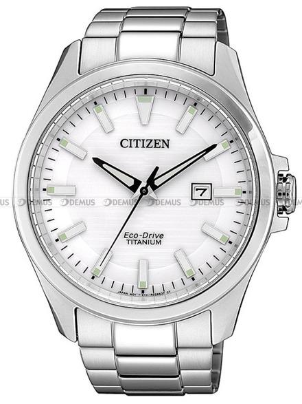 Zegarek Męski Citizen Eco-Drive Titanium BM7470-84A