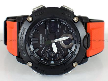 Zegarek Męski G-SHOCK Carbon Core Guard GA 2000E 4ER- Dodatkowe paski w zestawie