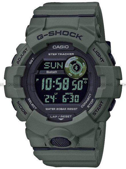 Zegarek Męski G-SHOCK G-SQUAD Bluetooth GBD 800UC 3ER