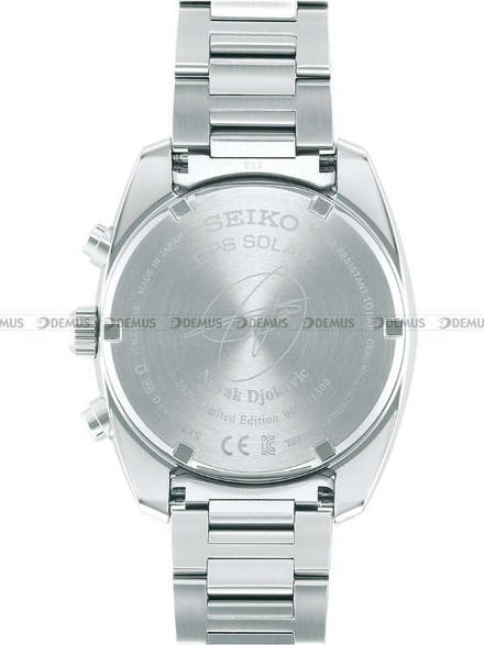 Zegarek Męski Seiko Astron SSH045J1 - Novak Djokovic 2020 - Limitowana Edycja - Dodatkowy pasek w zestawie