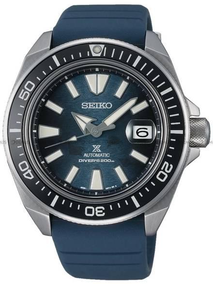 """Zegarek Męski Seiko Prospex King Samurai Automatic Diver """"Save The Ocean"""" SRPF79K1 - Specjalna edycja"""