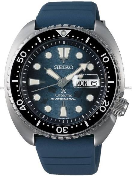 """Zegarek Męski Seiko Prospex King Turtle Automatic Diver """"Save The Ocean"""" SRPF77K1 - Specjalna edycja"""