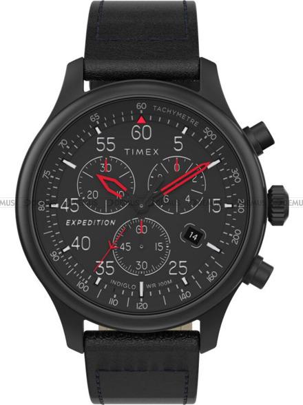 Zegarek Męski Timex Expedition Field Chronograph TW2T73000