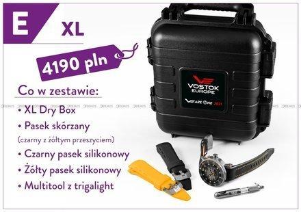 Zegarek Męski Vostok Europe VEareONE Special Edition PX84-620H659 E XL - Limitowana Edycja