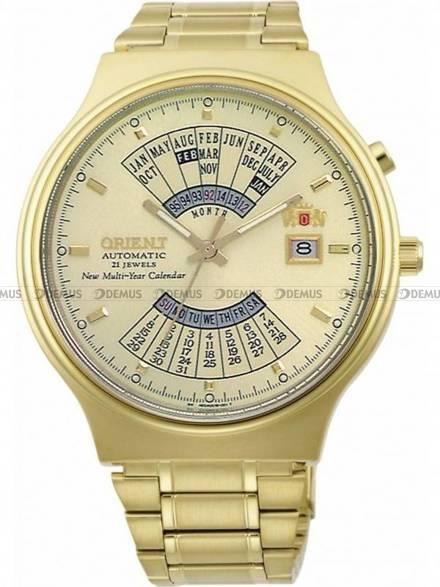 Zegarek Orient Multi-year Calendar FEU00008CW