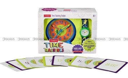 Zegarek dziecięcy Timex Kids TWG014900 - Z zestawem do nauki odczytywania godziny