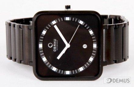 Zegarek męski na bransolecie Obaku V139GBBSB