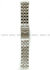 Bransoleta stalowa do zegarka - Bra26 - 22 mm