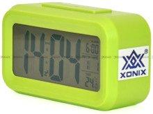 Budzik cyfrowy z termometrem Xonix GHY-510-Green