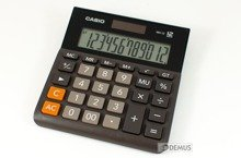 Kalkulator biurowy Casio MH-12-BK