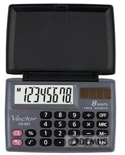 Kalkulator kieszonkowy Vector CH-861