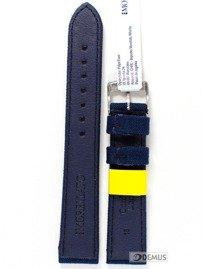 Pasek do zegarka skórzano-nylonowy - Morellato A01U2779110061 18 mm