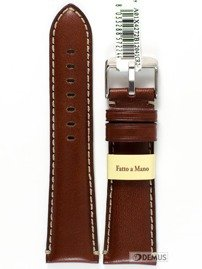 Pasek do zegarka skórzany - Morellato A01X4272B12041 24 mm