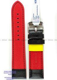 Pasek do zegarka wodoodporny skórzany - Morellato A01X5272C91183CR18 - 18 mm