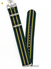 Pasek nylonowy do zegarka - Morellato A01U3972A74871 18 mm