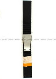 Pasek silikonowy Diloy do zegarka - SBR35.22.1 - 22 mm