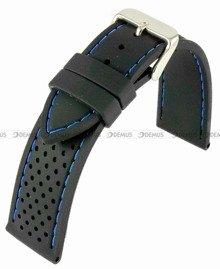 Pasek silikonowy do zegarka - Horido 0015.01B.24S - 24 mm