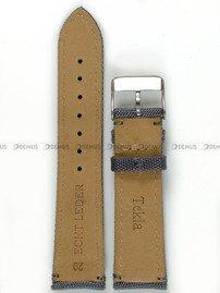Pasek skórzano-nylonowy do zegarka - Tekla PSN1.20.51.51 - 20 mm