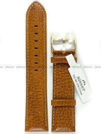 Pasek skórzany do zegarka Bisset - BS-154 - 22 mm