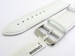 Pasek skórzany do zegarka Condor 306R.09.26.W - 26 mm