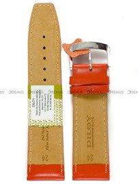 Pasek skórzany do zegarka - Diloy 366.24.12 - 24 mm