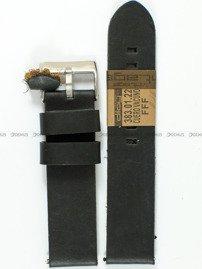 Pasek skórzany do zegarka - Diloy 383.22.1 - 22 mm