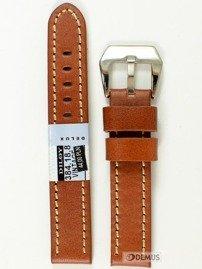 Pasek skórzany do zegarka - Diloy 384.18.8 - 18mm