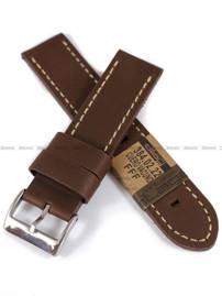 Pasek skórzany do zegarka - Diloy 384.22.2 - 22 mm