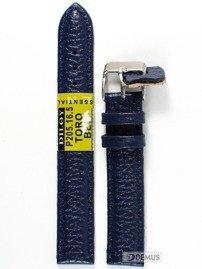 Pasek skórzany do zegarka - Diloy P205.16.5 - 16mm