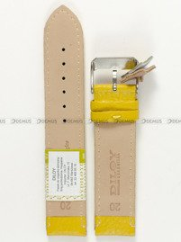 Pasek skórzany do zegarka - Diloy P205.20.10 - 20mm