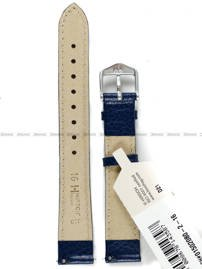 Pasek skórzany do zegarka - Hirsch Kansas 01502080-2-16 - 16 mm