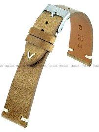 Pasek skórzany do zegarka - Horido 9450.03.20S - 20 mm - Zwężany