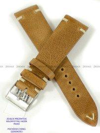 Pasek skórzany do zegarka - Horido 9450.03.24S - 24 mm - Zwężany