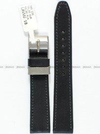 Pasek skórzany do zegarka - LAVVU LSOUB18 - 18 mm