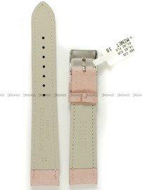 Pasek skórzany do zegarka - Minet MSNUP18 - 18 mm