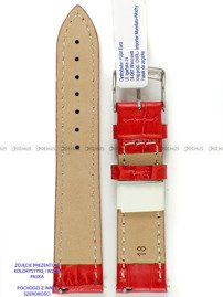 Pasek skórzany do zegarka - Morellato A01D5192480083CR20 - 20 mm