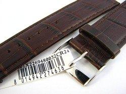 Pasek skórzany do zegarka - Morellato A01X2269480032 24mm