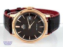 Pasek skórzany do zegarka Orient FAC08001T0 - UDFGGR0 - 22 mm