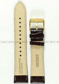 Pasek skórzany do zegarka Orient RA-AG0003S10B - UL002011K0 - 21 mm