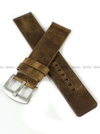 Pasek skórzany do zegarka - PT57.22.2 - 22 mm