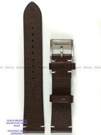 Pasek skórzany do zegarka - Pacific W118.22.2.7 - 22 mm