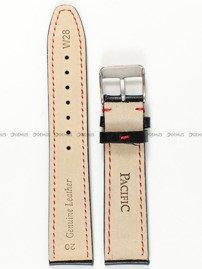 Pasek skórzany do zegarka - Pacific W28.20.1.4 - 20 mm