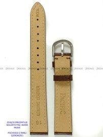 Pasek skórzany do zegarka - Pacific W33L.14.2.2 - 14 mm